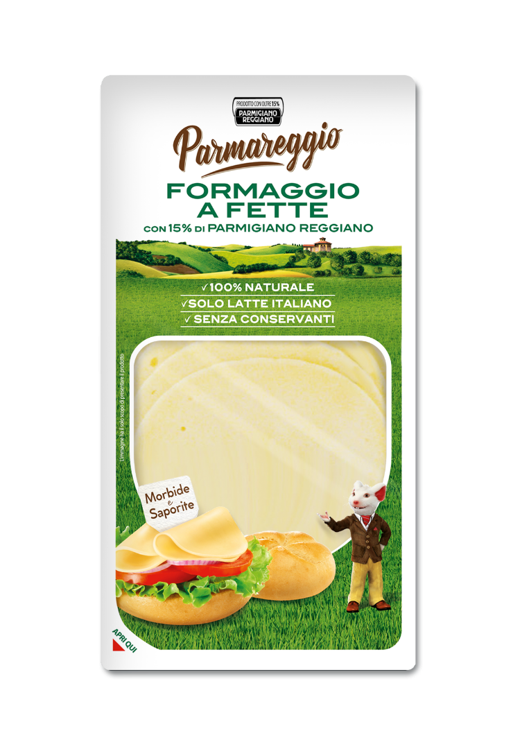 FORMAGGIO A FETTE CON PARMIGIANO REGGIANO CLASSICO